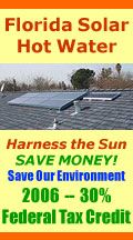 Solar Hot Water Heaters for Florida and beyond.
